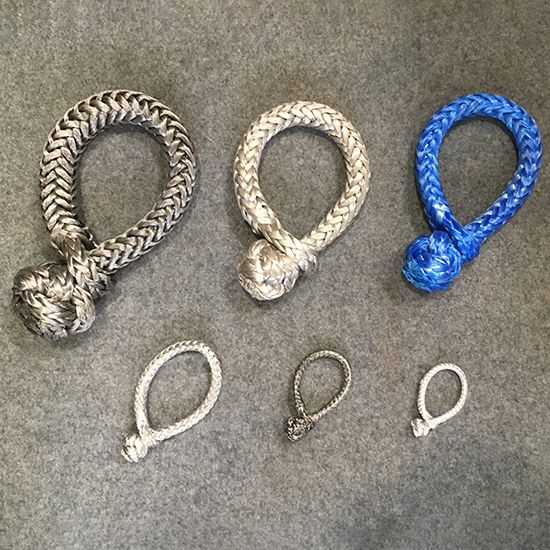 Dyneema Soft Rope Shackles